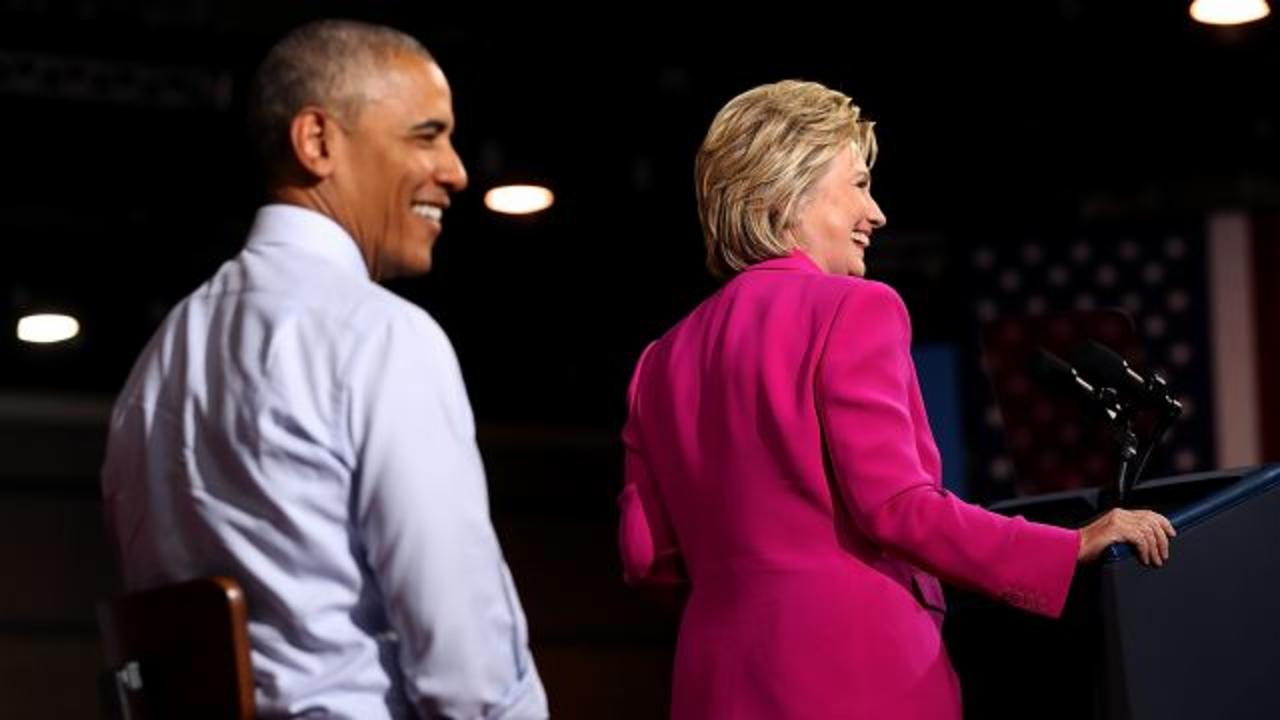 Obama And Clinton Roast Trump For The First Time — Together