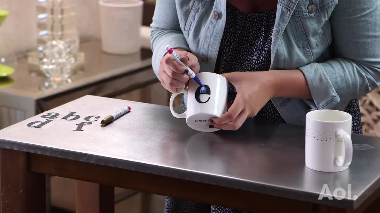 DIY Personalized Mug