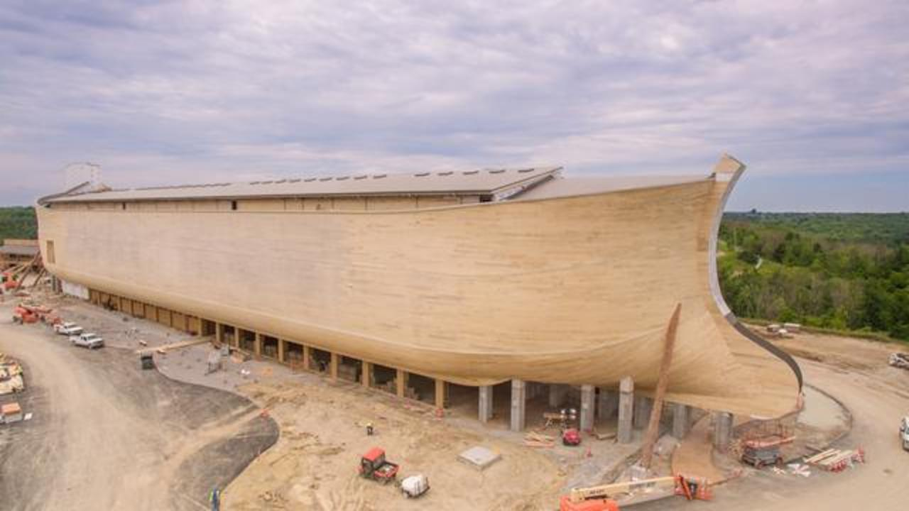 About the LifeSize Noahs Ark  Ark Encounter