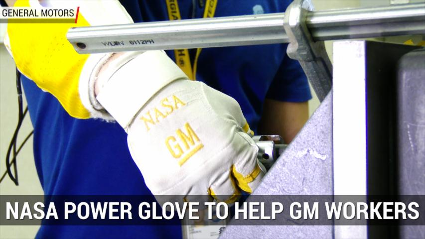 Robot Power Glove To Help Autoworkers | Autoblog Minute