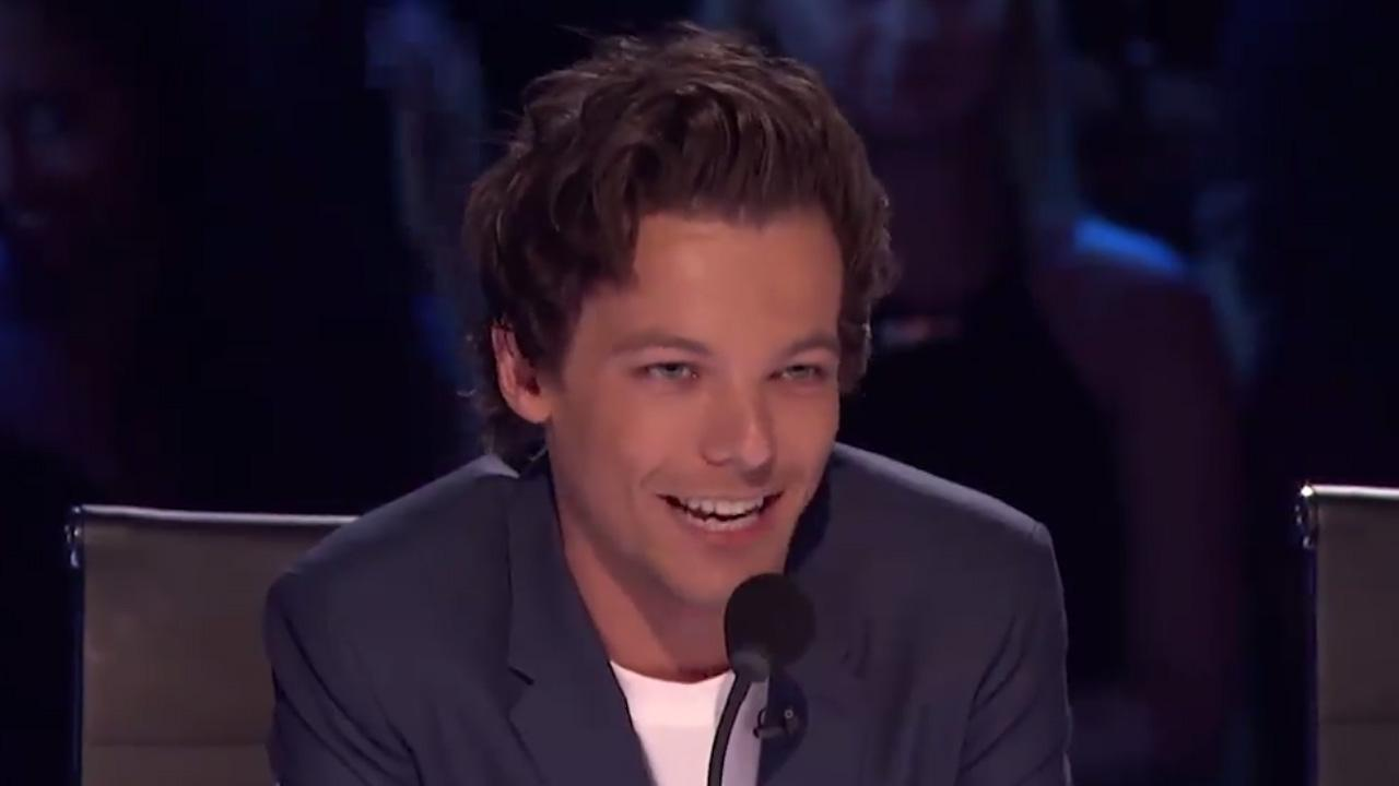 First Look At Louis Tomlinson Guest Judging America's Got Talent