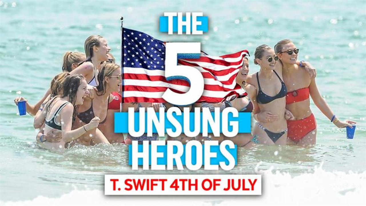 Five Unsung Heroes of Taylor Swift's Independence Day Party