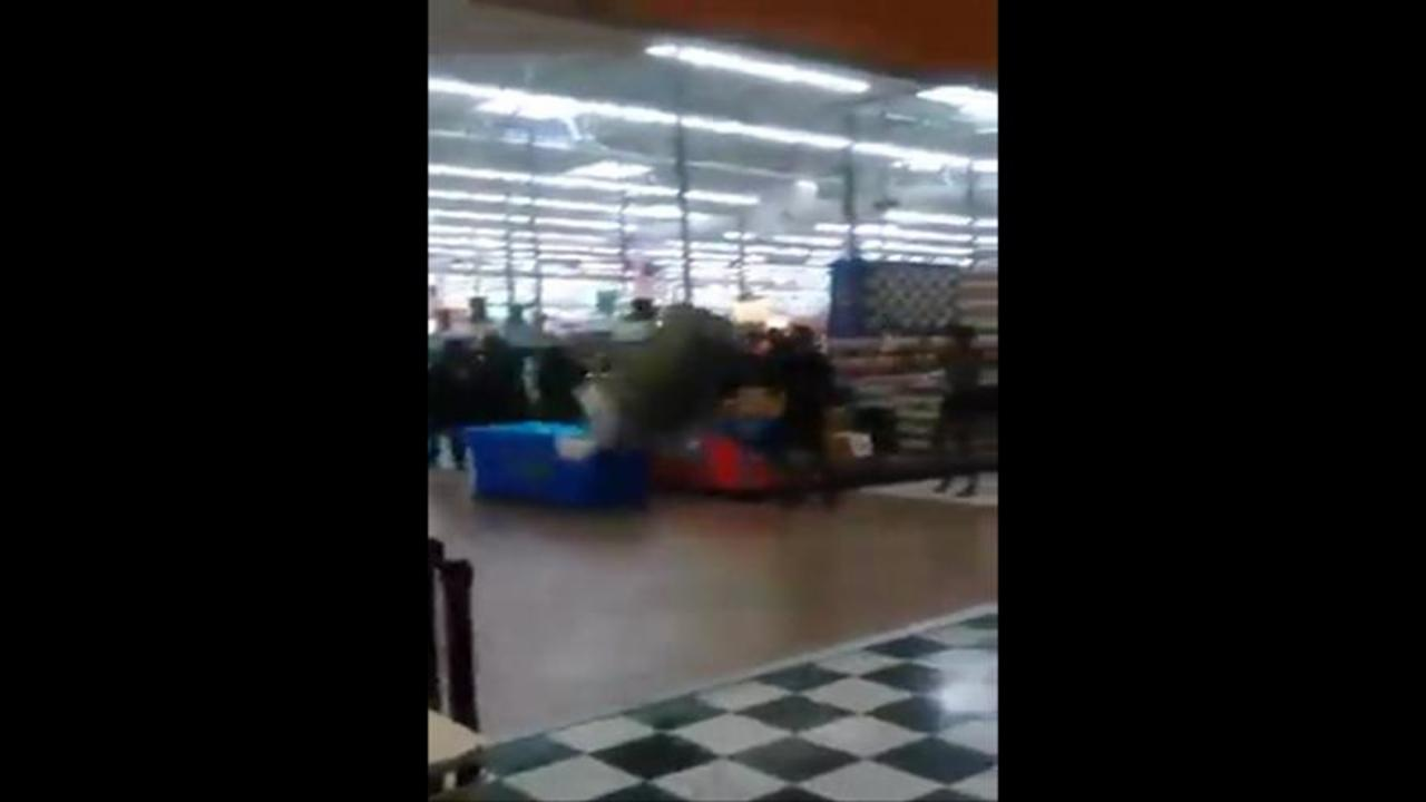 Video Shows 30-Person Brawl at A New York Wal-Mart
