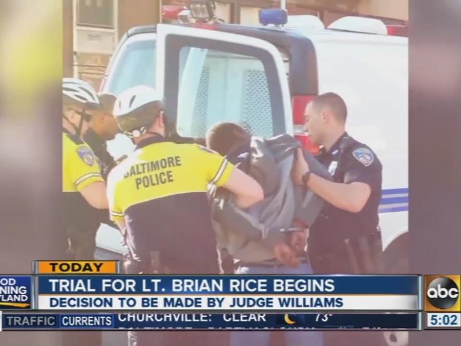 Trial for Lt. Brian Rice begins Thursday
