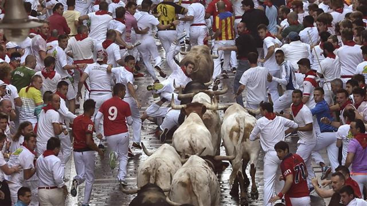 Running of the Bulls 2016 Kicks Off in Pamplona