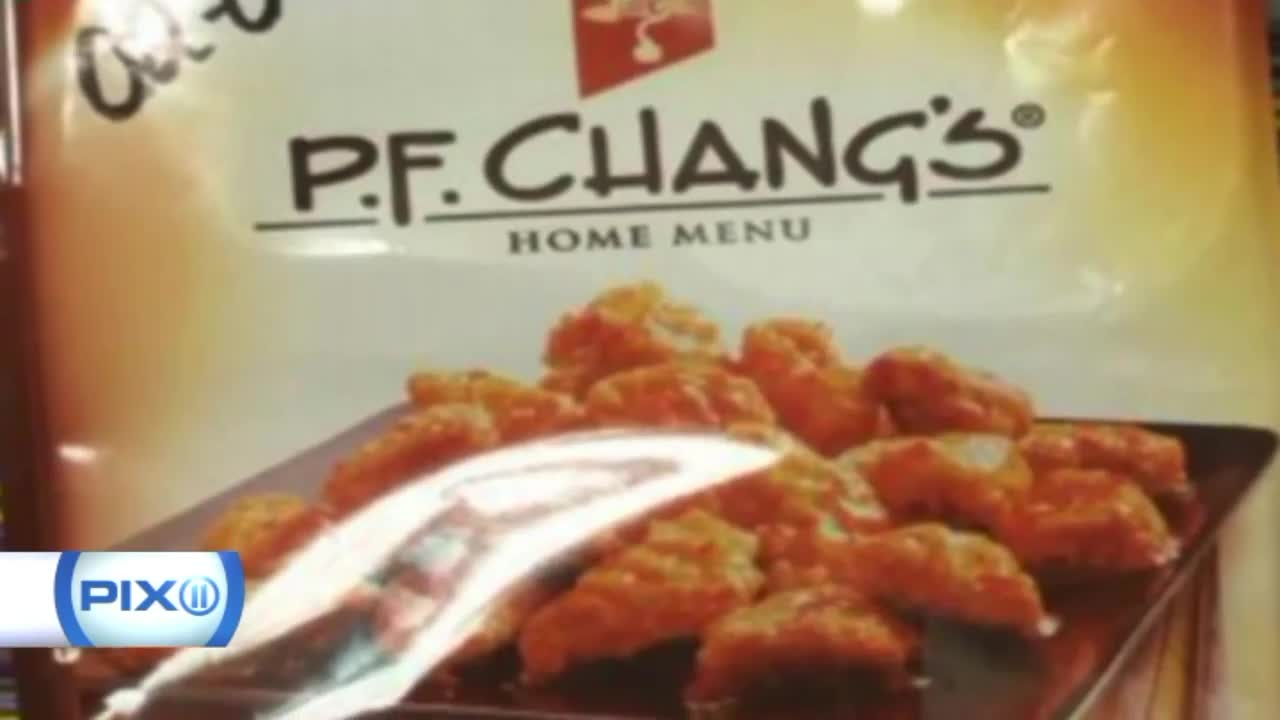 Metal Fragments Prompt Recall of PF Chang's Frozen Meals