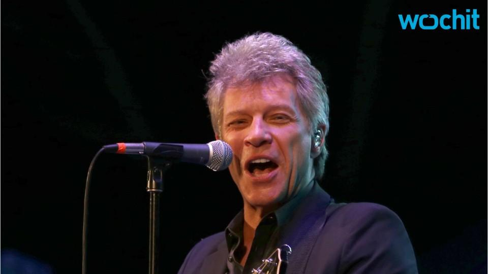 Jon Bon Jovi Sings One Of His Classics At A Recent Wedding