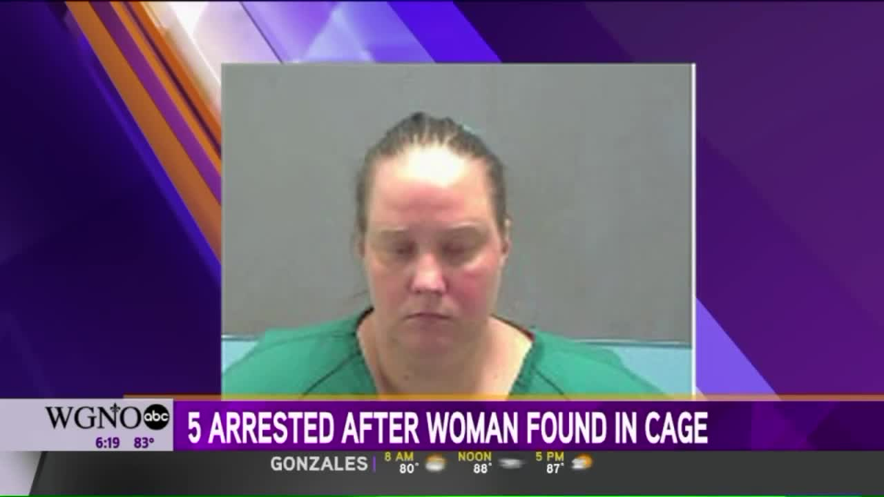 Five Arrested After Woman With Autism Found Living in Backyard Cage