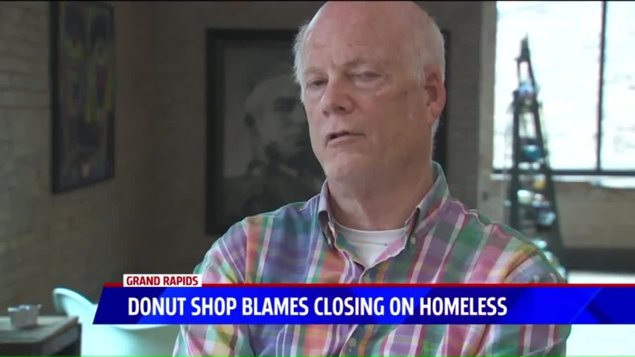 Doughnut Shop Under Fire After Blaming Closing on City's Homeless