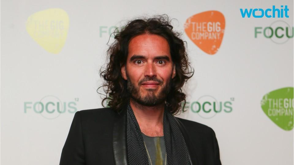 Russell Brand Prepares For Fatherhood