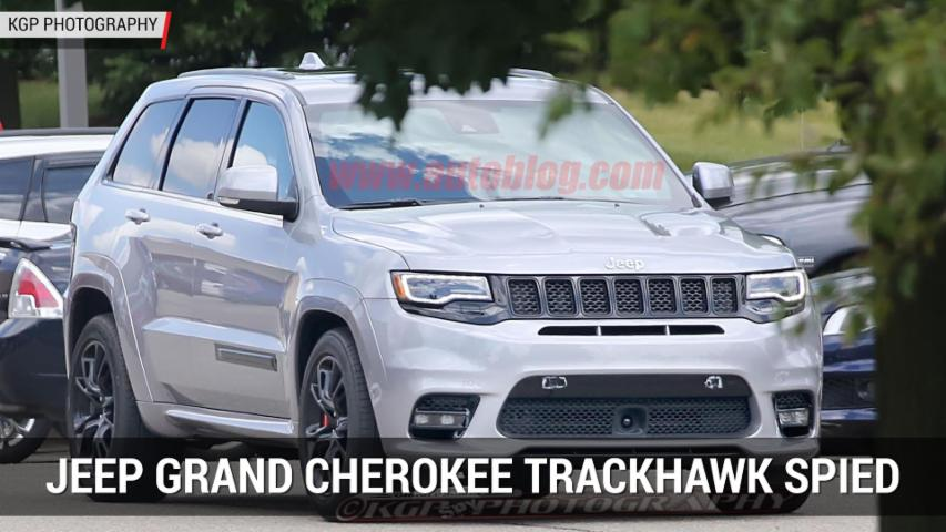 Hellcat-powered Jeep Grand Cherokee Trackhawk spied | Autoblog Minute