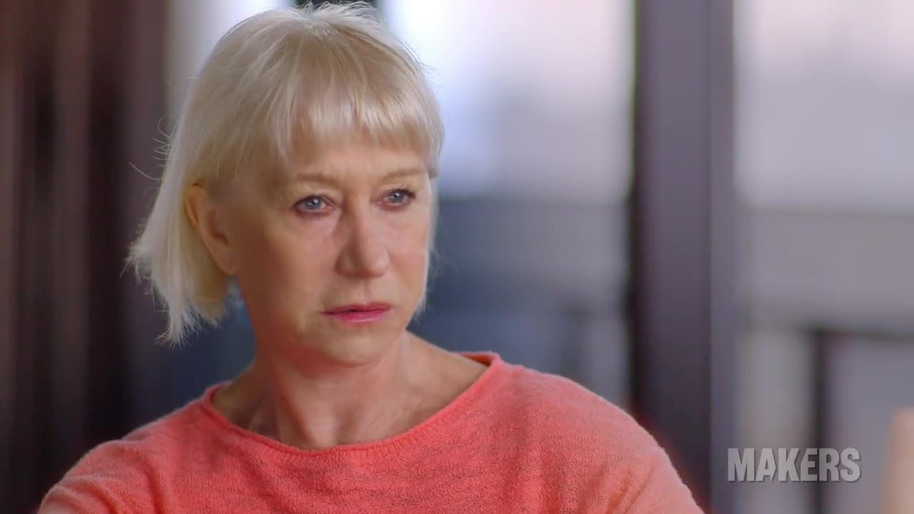 Being a Feminist - Helen Mirren MAKERS Moment