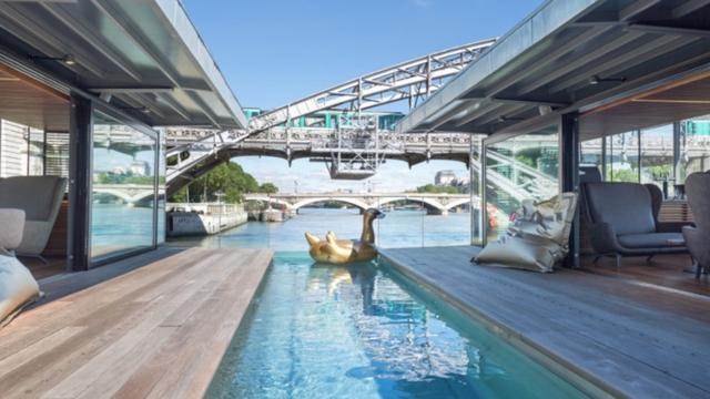 Floating Hotel Opens On The River Seine In Paris
