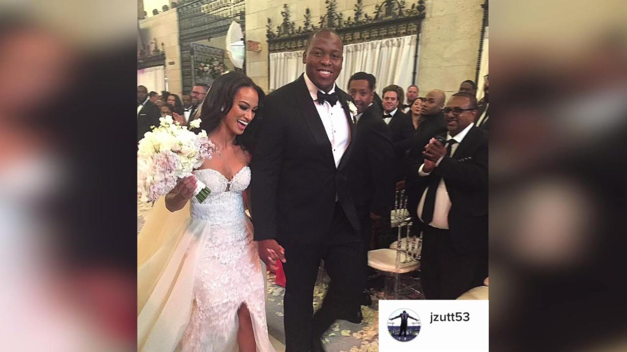 NFL Player Wouldn't Get Married Without His Pit Bull