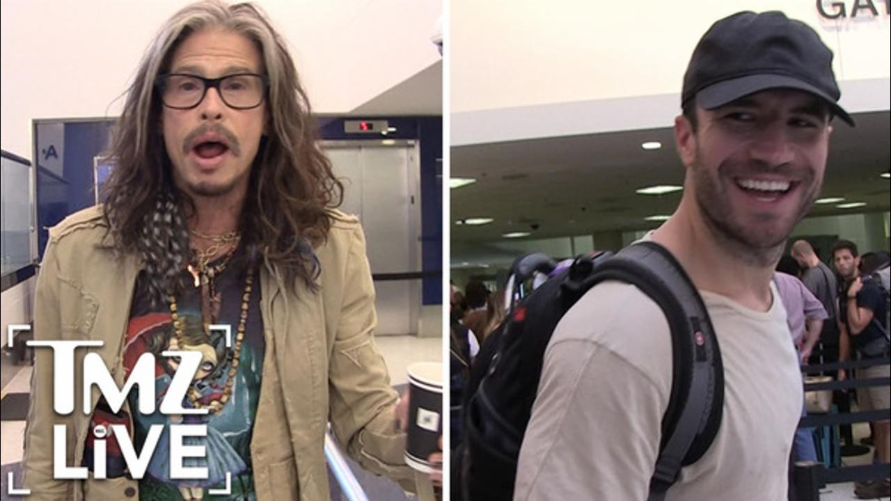 Steven Tyler Defends Sam Hunt (TMZ Live)