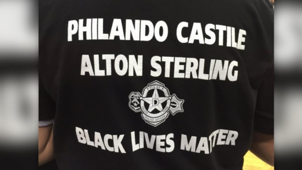 Police Working WNBA Game Quit Over Team's Black Lives Matter Shirts
