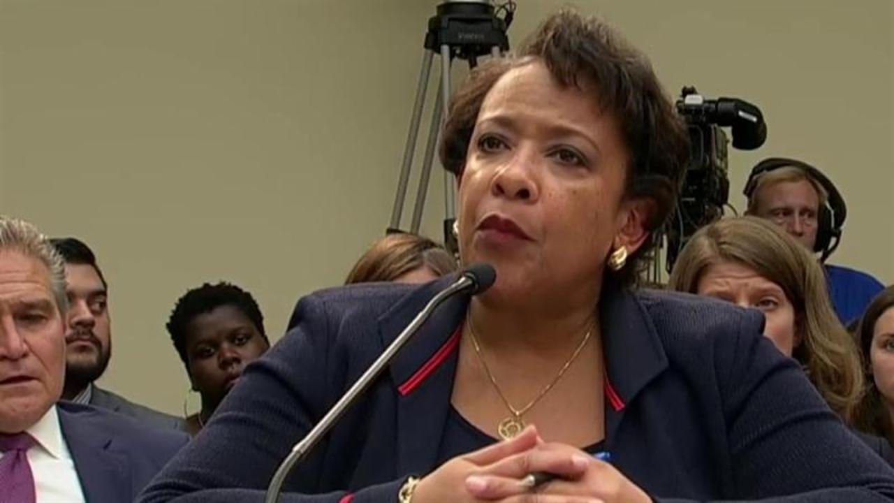 Atty. General Lynch grilled over Clinton emails