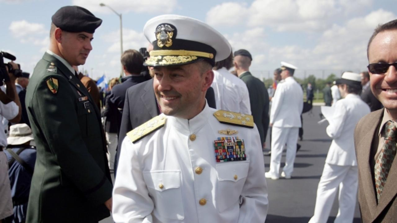Clinton Is Reportedly Vetting a Retired Navy Admiral for Veep