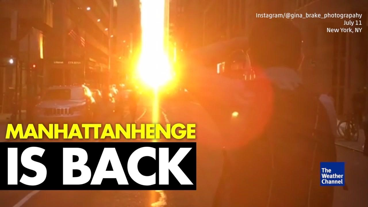 Manhattanhenge Is Back