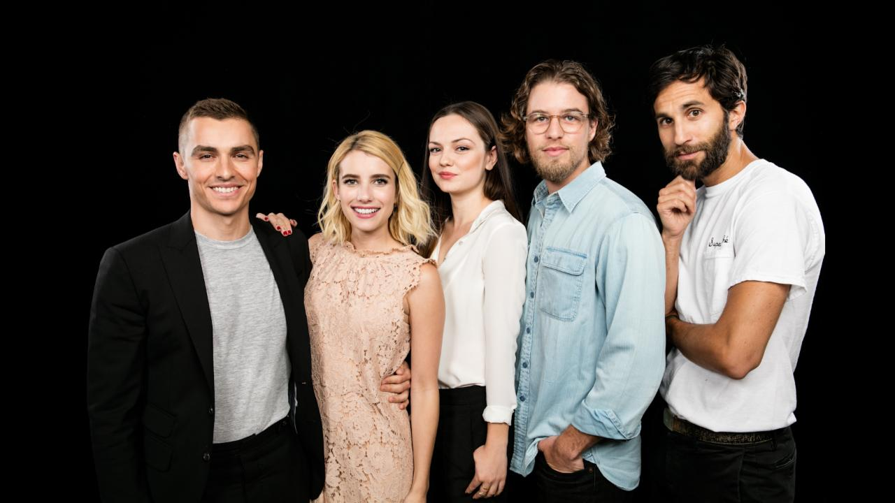 "Emma Roberts, Dave Franco, Henry Joost and Rel Schulman On ""Nerve"""