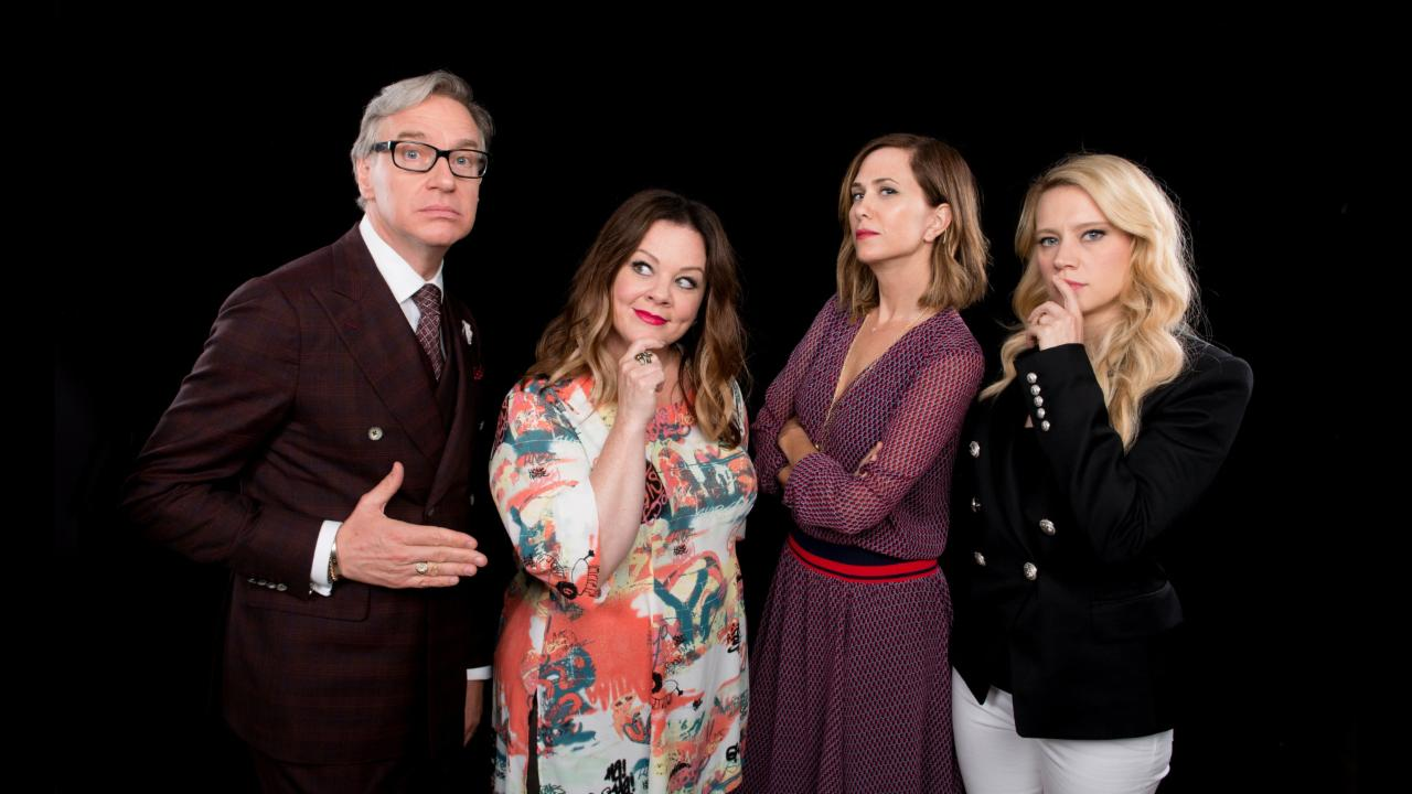 "Melissa McCarthy, Kristen Wiig, Leslie Jones, Kate McKinnon and Paul Feig On ""Ghostbusters"""