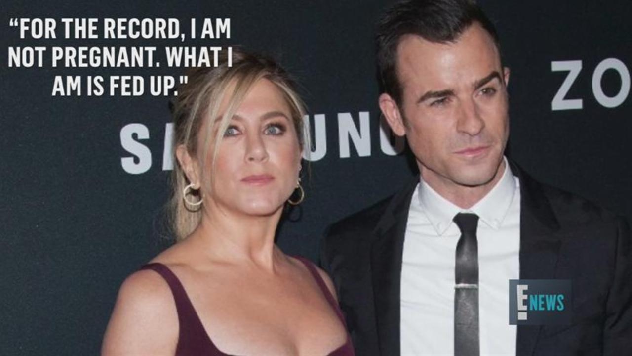 Jennifer Aniston Is Fed Up and Fighting Back