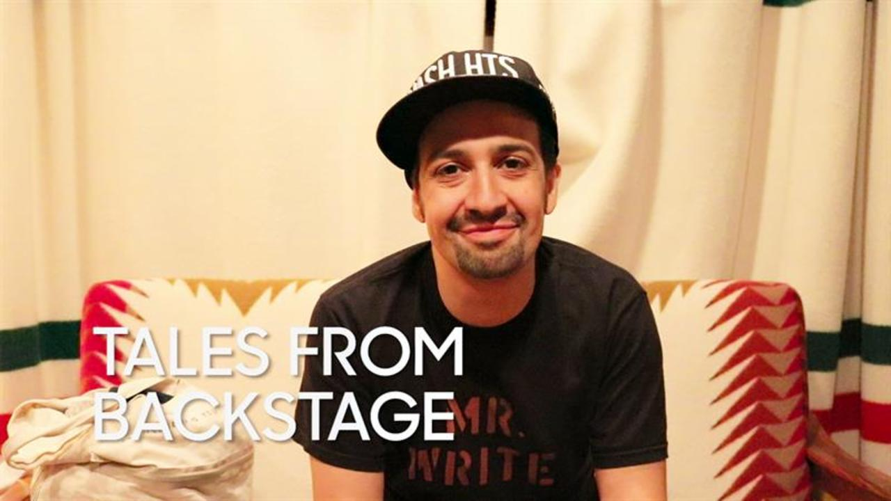 "Tales from Backstage: Lin-Manuel Miranda's Final ""Hamilton"" Performance"