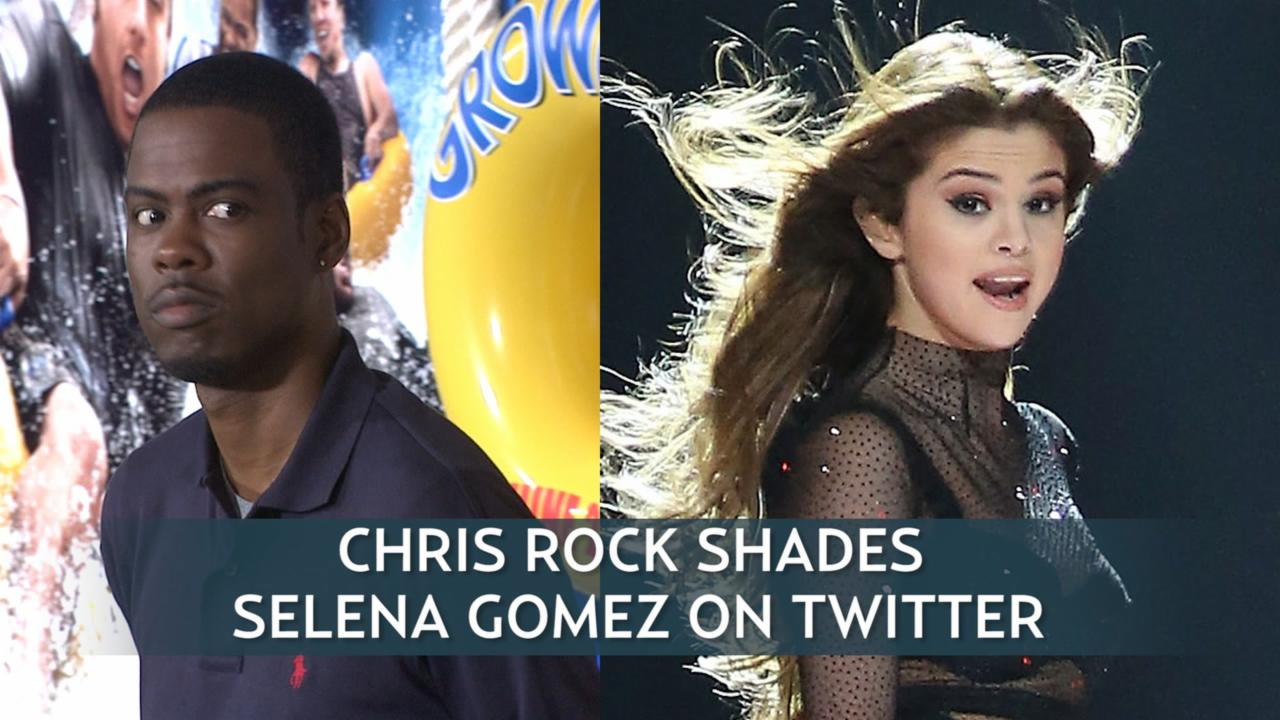 Chris Rock Shades Selena Gomez On Twitter