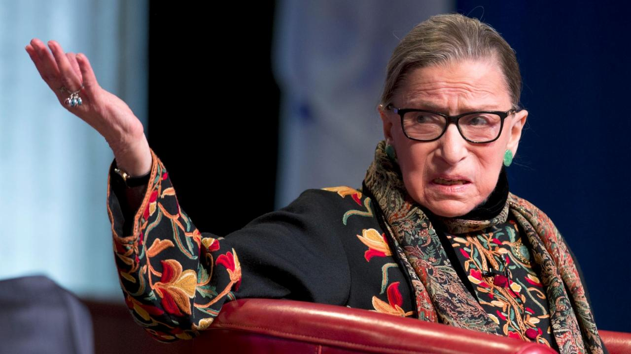 Here's why Ruth Bader Ginsburg won't get in trouble for her Trump comments