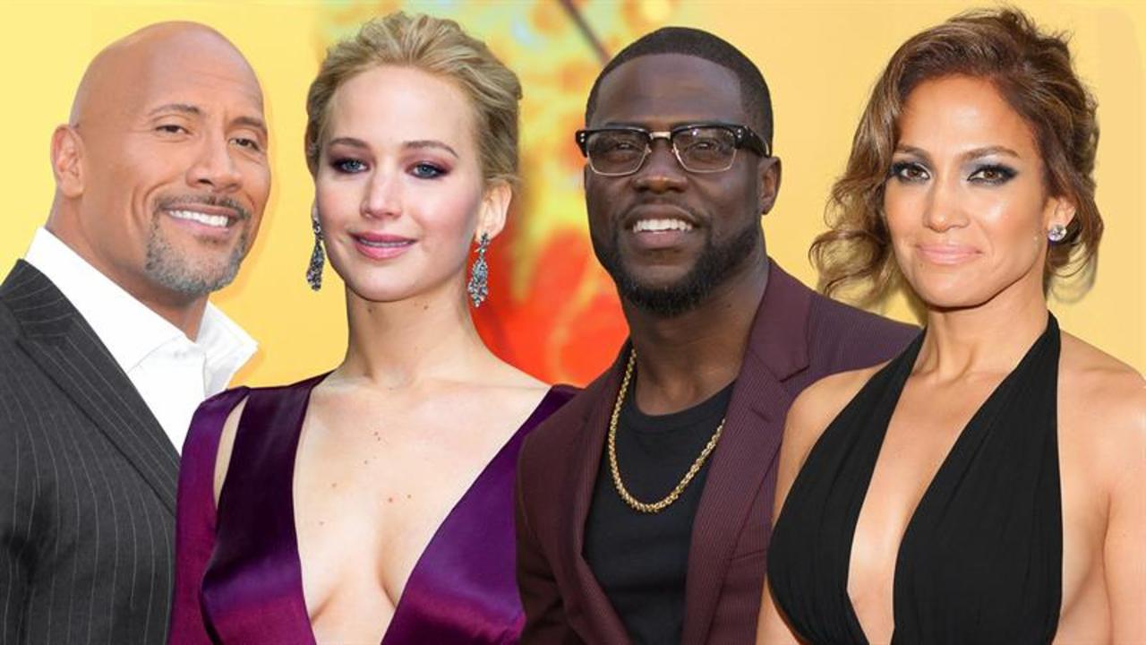 Hollywood Stars' Huge Movie Salaries Revealed