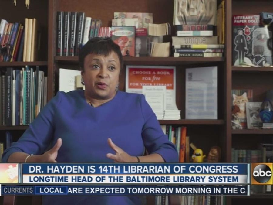 Dr. Hayden is 14th librarian of Congress