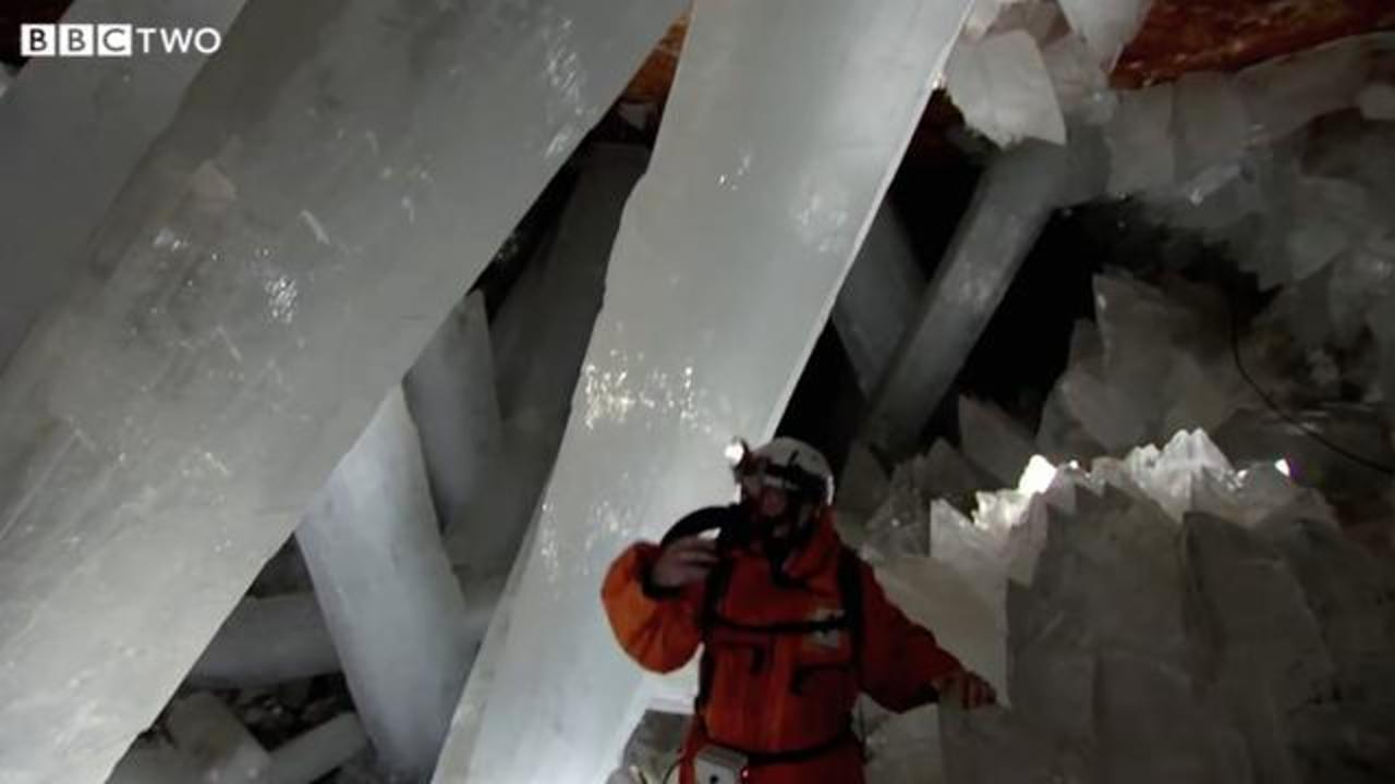 Mexico's Cave of Crystals Is Otherworldly