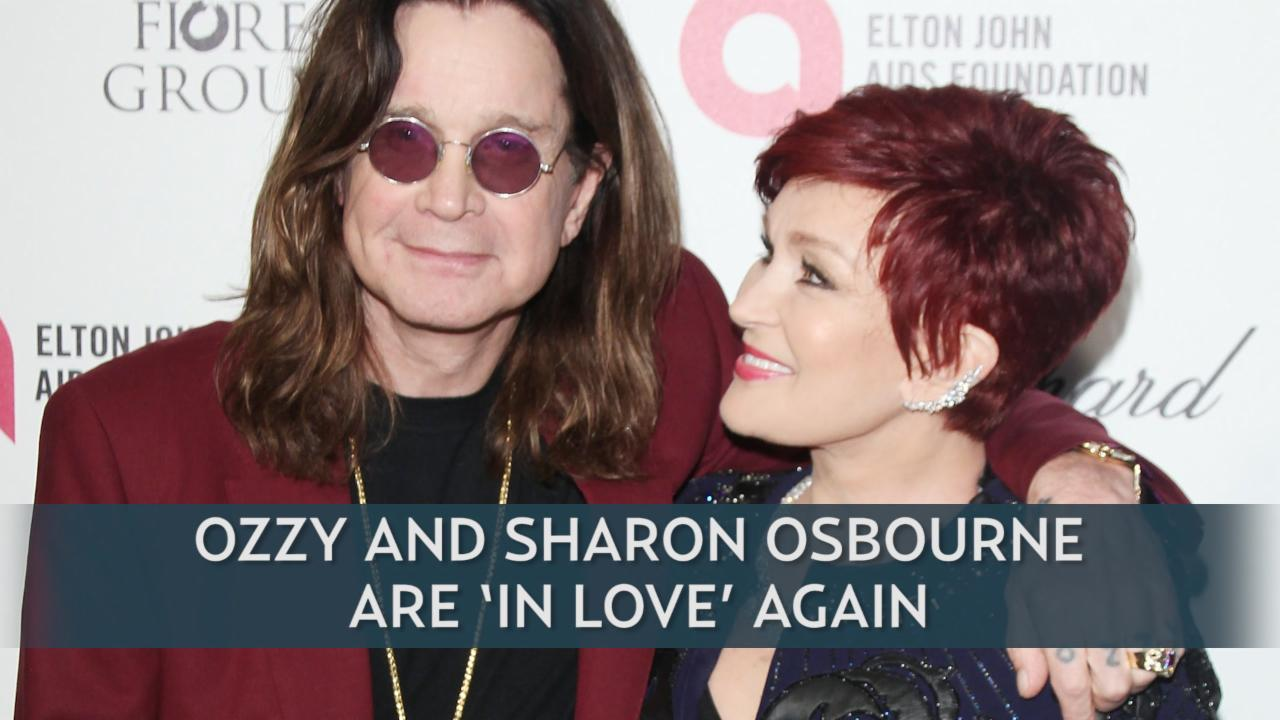 Ozzy And Sharon Osbourne Are 'In Love' Again