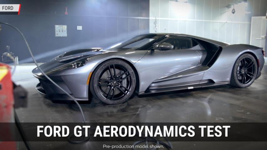 Ford GT Aerodynamics Test | Autoblog Minute