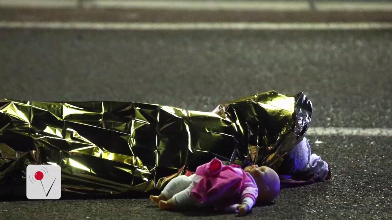 The Most Heartbreaking Image Comes out of French Truck Massacre