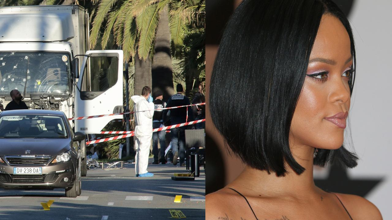 Rihanna Cancels Concert in Nice, France Following Deadly Terrorist Attacks