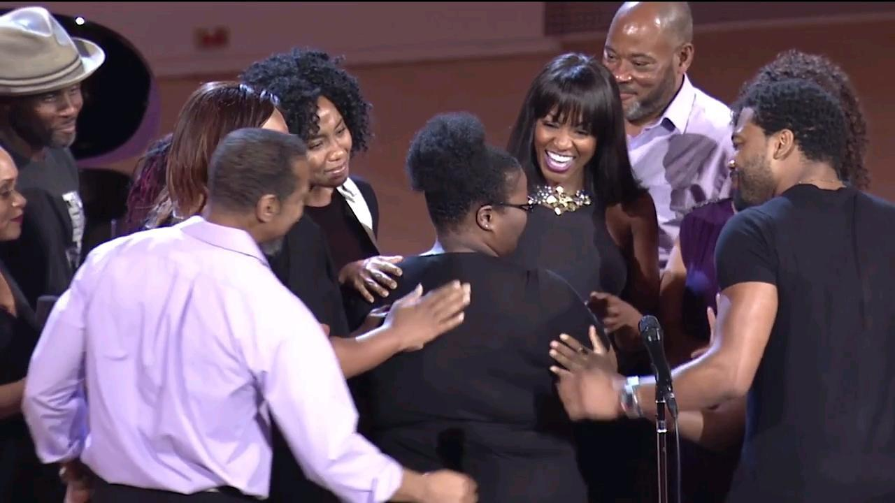 'The Color Purple' Cast Surprises Superfan