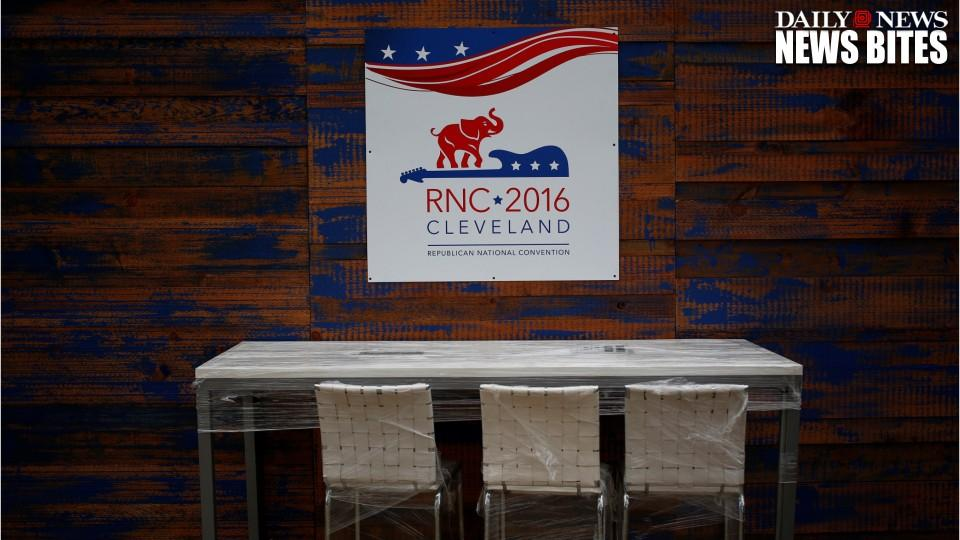 'White Elevators' Sign Spotted At Republican National Convention