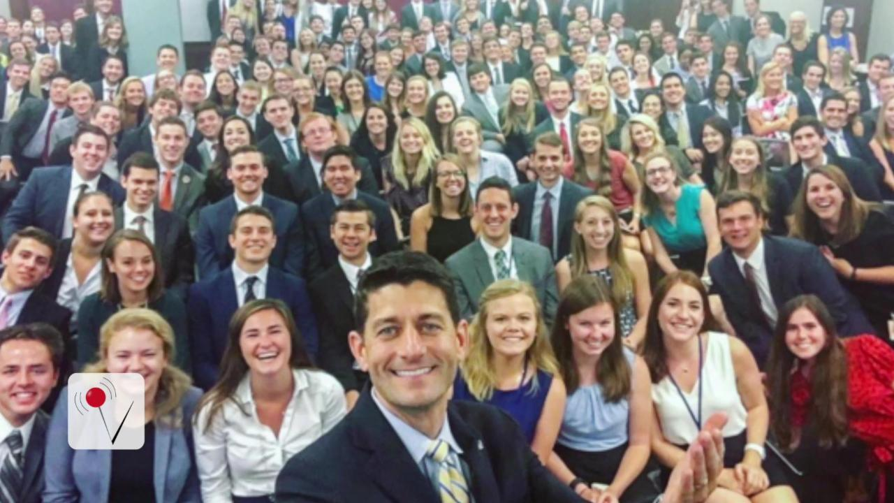 There Is A Glaring Problem With Speaker Paul Ryan's Latest Selfie