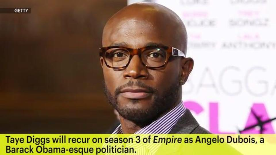 Taye Diggs to Join 'Empire' Season 3