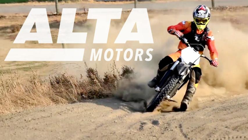 Alta Motors all-electric motorbikes