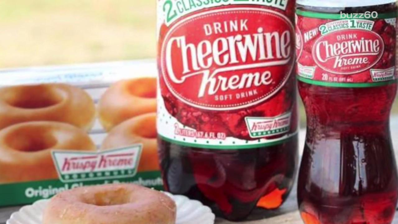 Krispy Kreme Making Donut Soda with Cheerwine