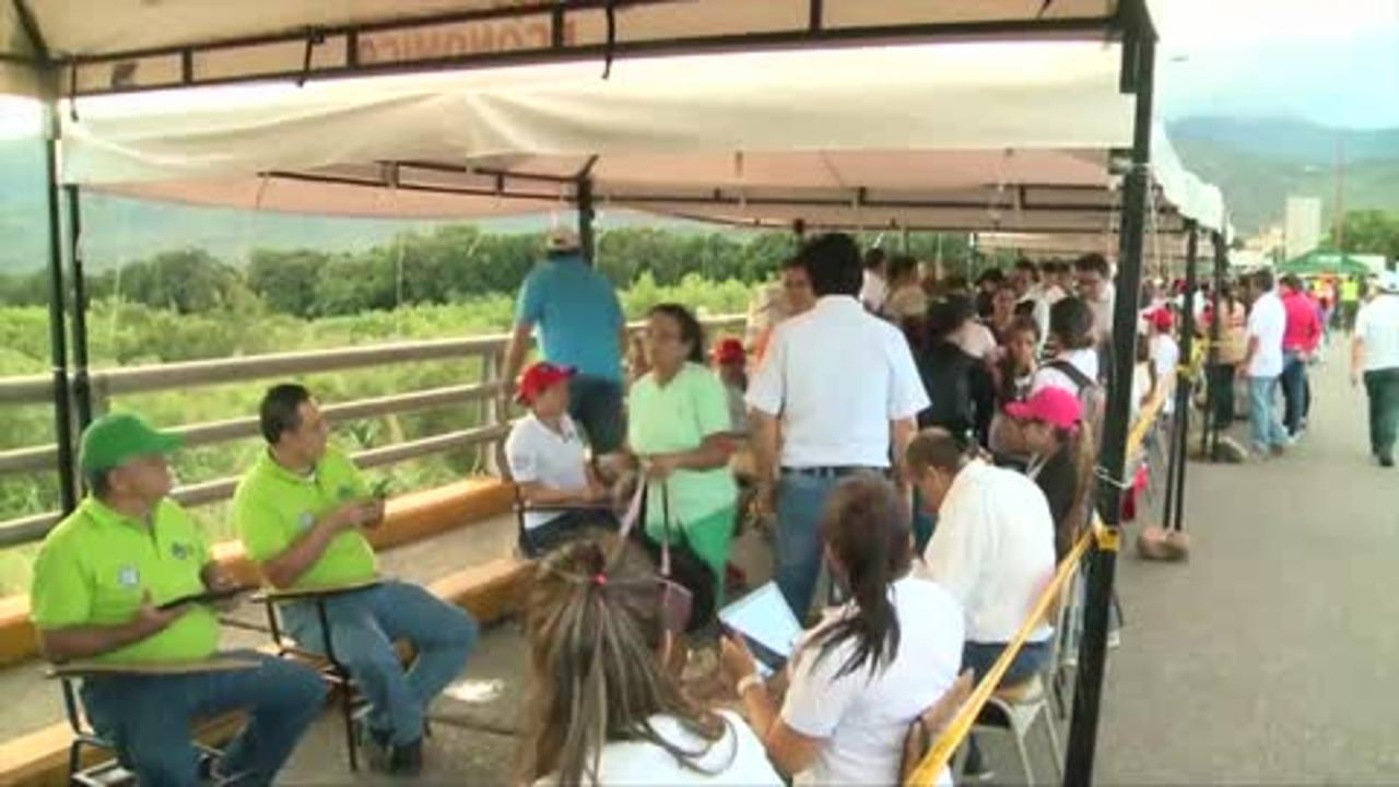 Venezuelans Flock to Columbia Seeking Food