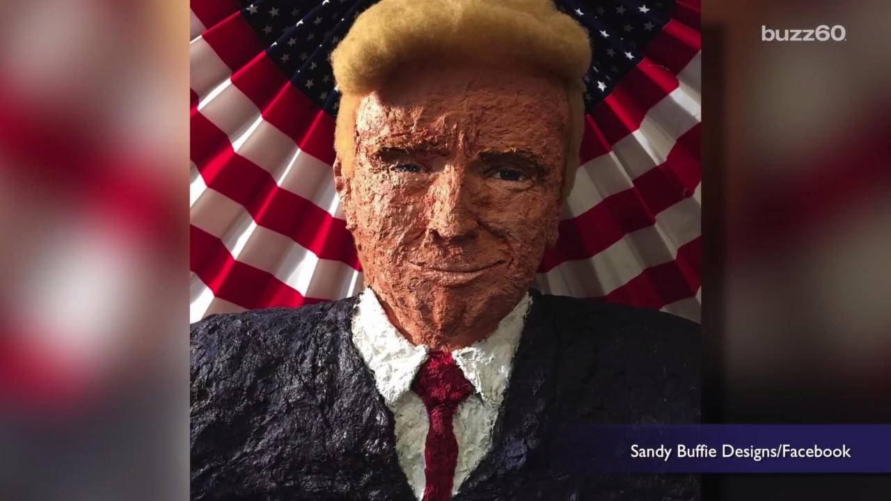 You Can Own a Lint Sculpture of Donald Trump