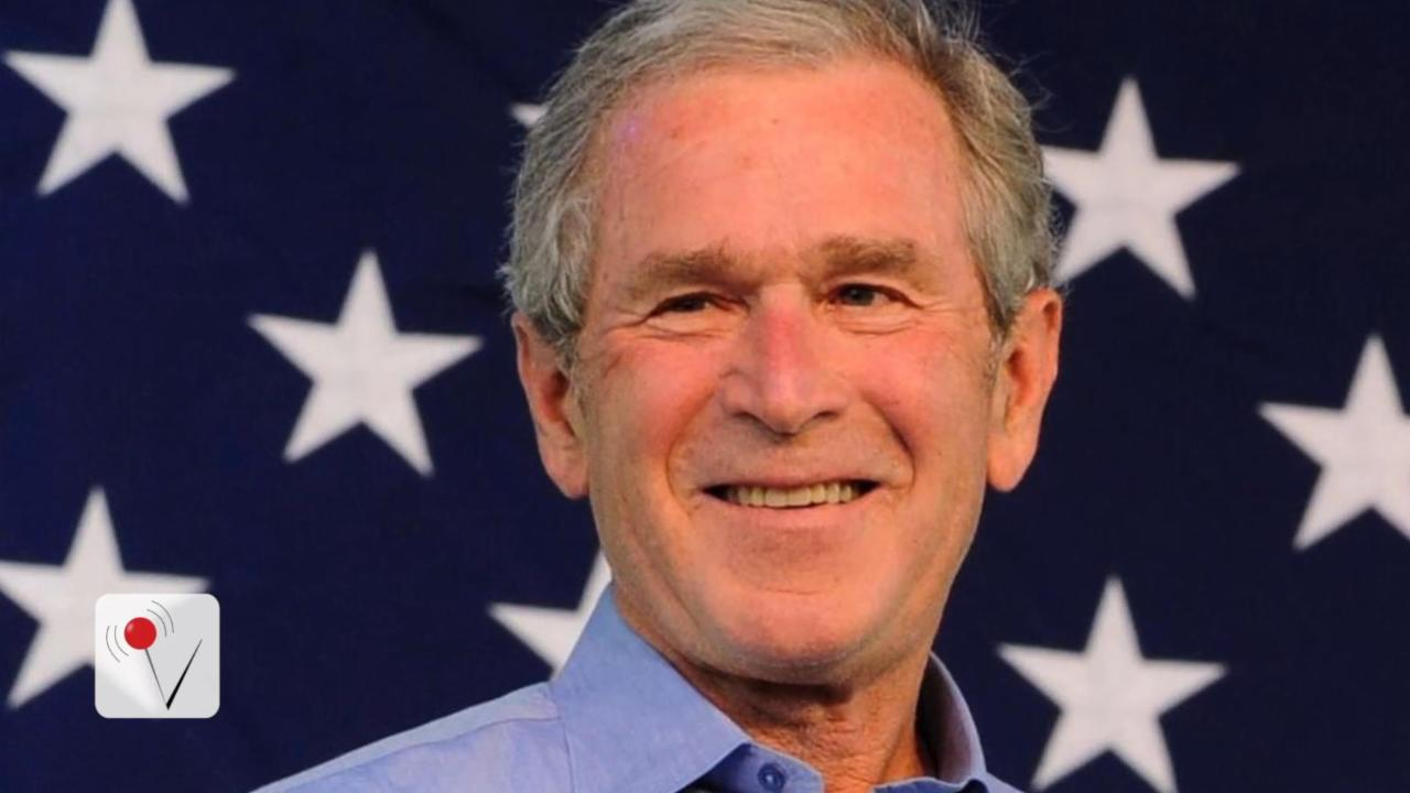 George W. Bush Worries He'll Be the 'Last Republican President'