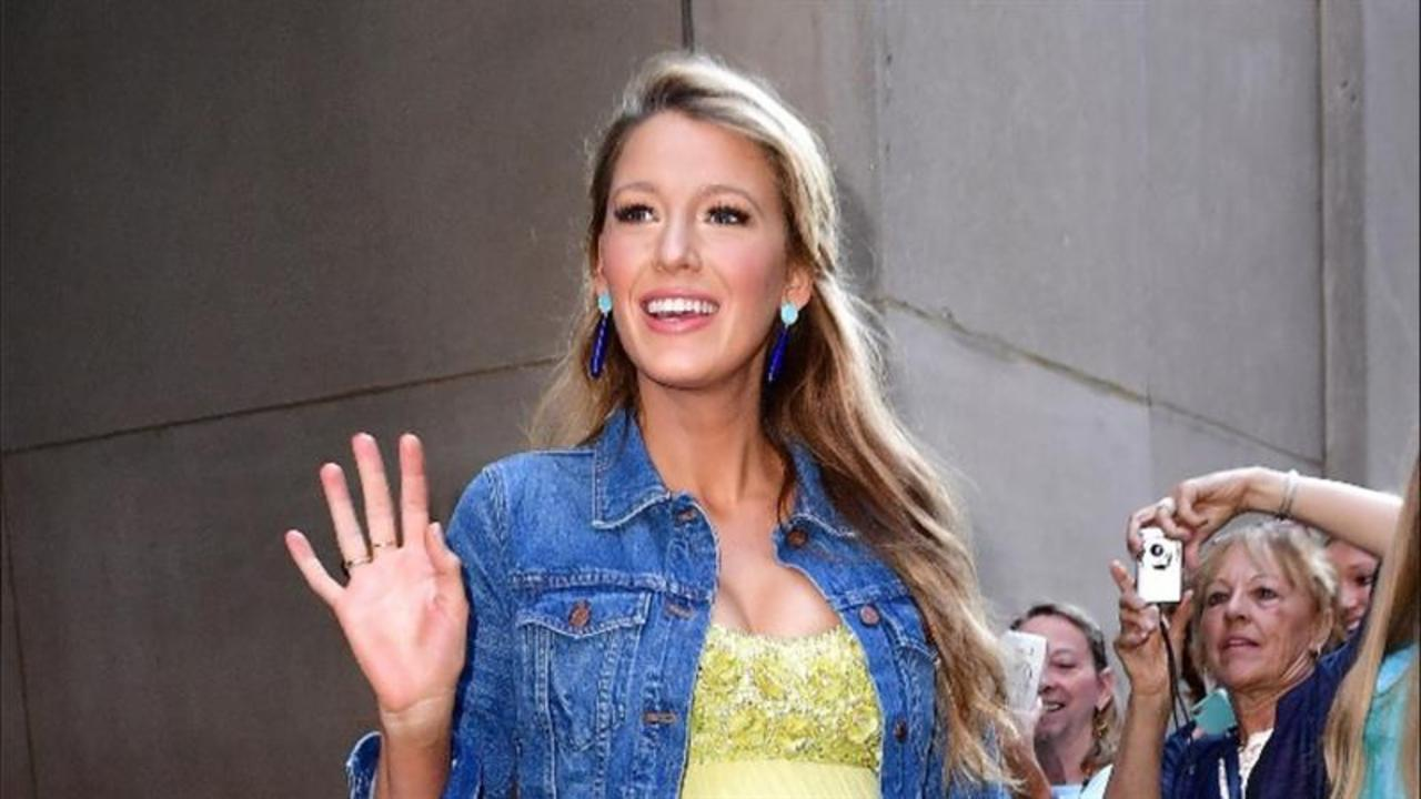 Blake Lively Dresses Her Baby Bump in Style