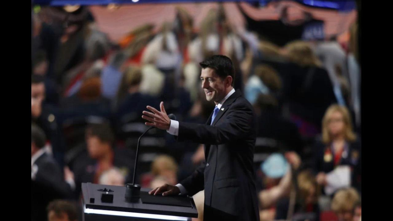 Paul Ryan: 'Everyone is equal, everyone has a place'