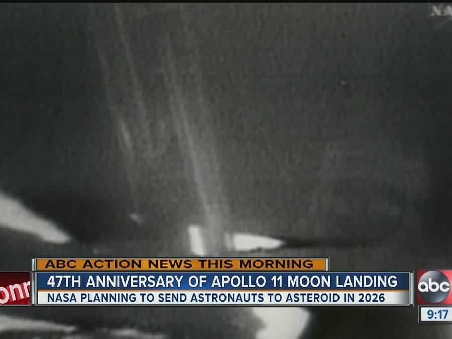 47th Anniversary of Apollo 11 moon landing
