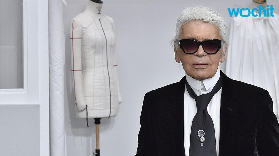 Karl Lagerfeld Makes Fashion History