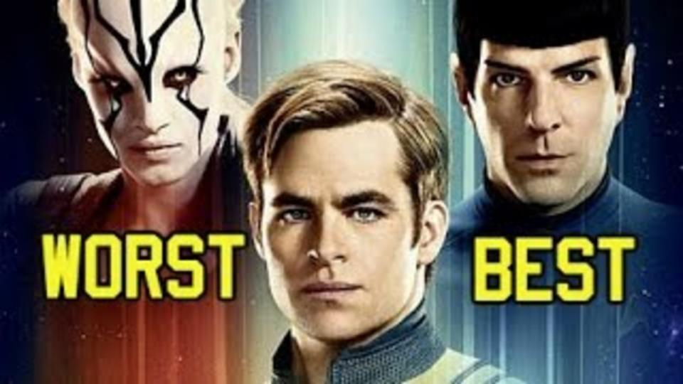 Star Trek Movies Ranked - Worst to Best